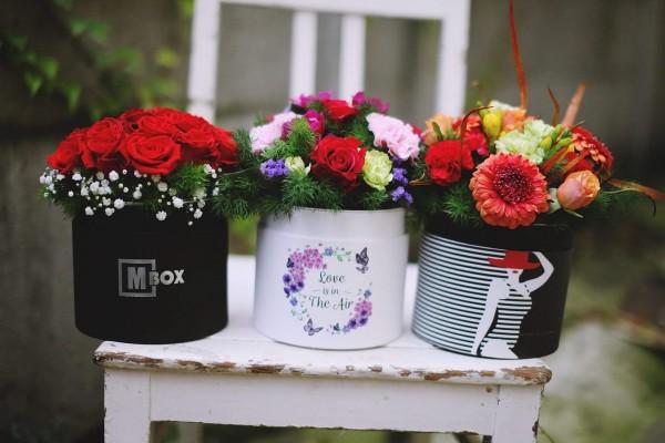 bukiety kwiatów